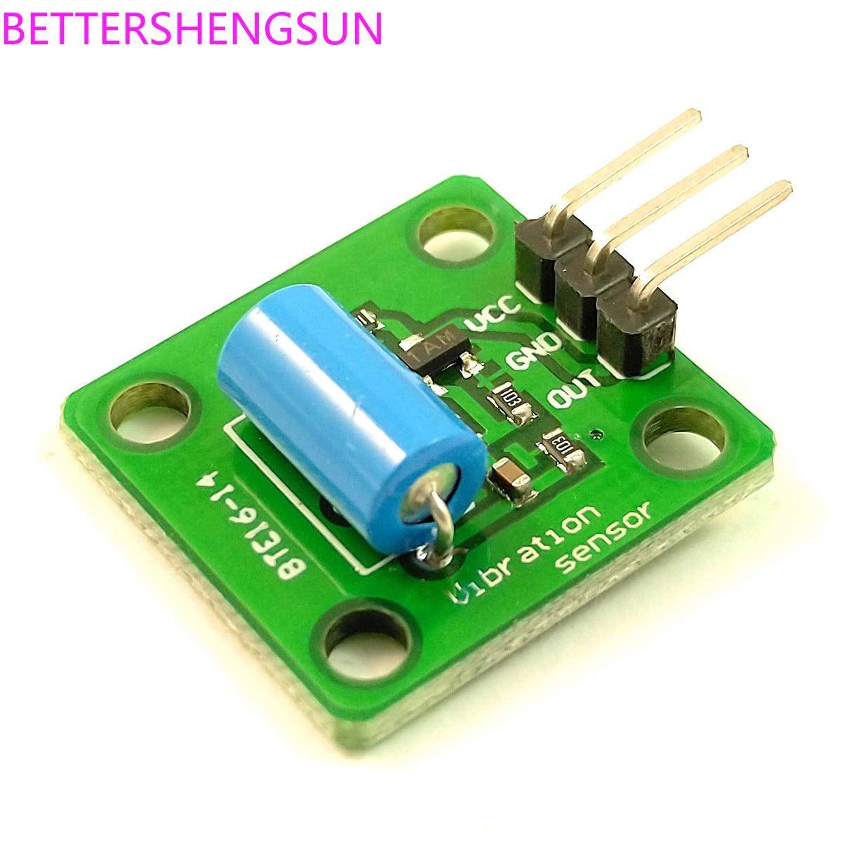 High-sensitivity Vibration Vibration Sensor Module HDX-2 / SW-420 Vibration Switch Alarm Induction Module