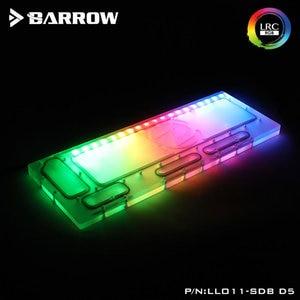 Barrow LLO11-SDB-D5, placas de navegação para lian li PC-O11 caso dinâmico, compatível com 18w/d5 bomba