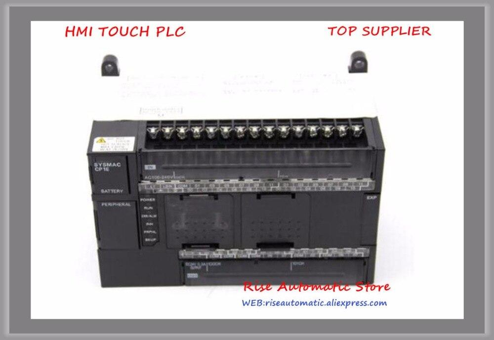 New original 24 DI CP1E-N40DR-A 16 FAZER Relé PLC controlador Lógico Programável 100-240 V
