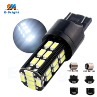 6pcs 12V 24V 5730 30 SMD Led Bulbs 1156 BA15S 1157 BAY15D T20 3156 3157 7440 7443 Auto Turn Light Bulbs 900Lm Universal Use