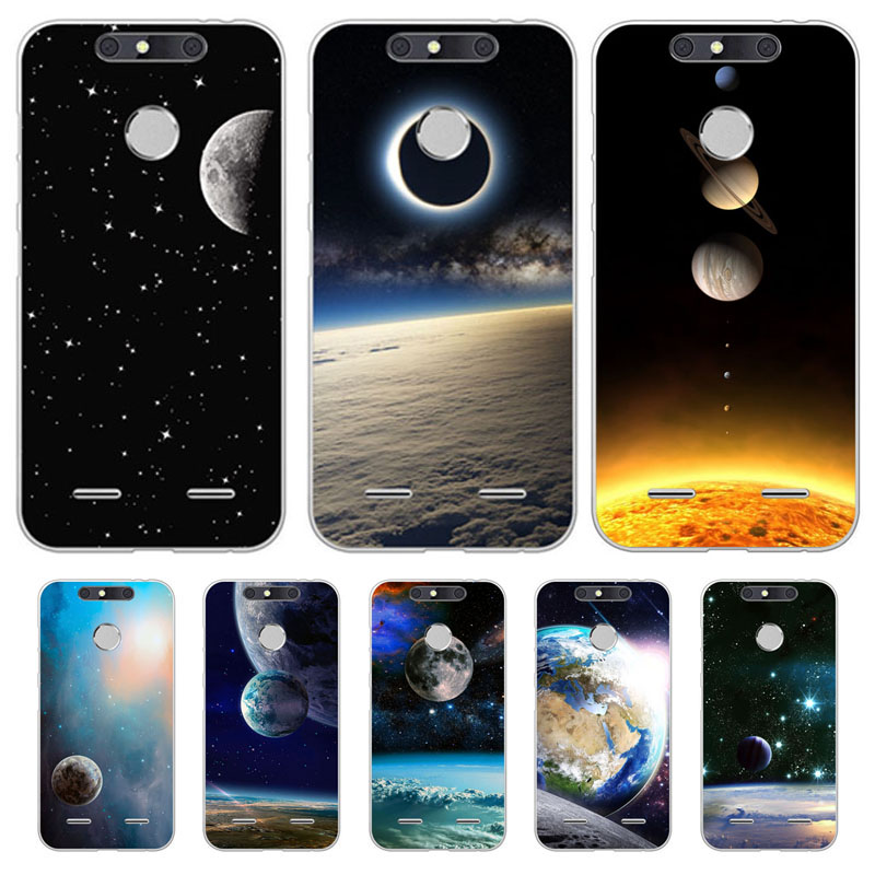 zte blade v9 v8 v7 lite v8 mini z10 z601 x3 d2 Case Starry sky Soft TPU Back Cover for zte blade v9 v8 Phone protect Bags cases