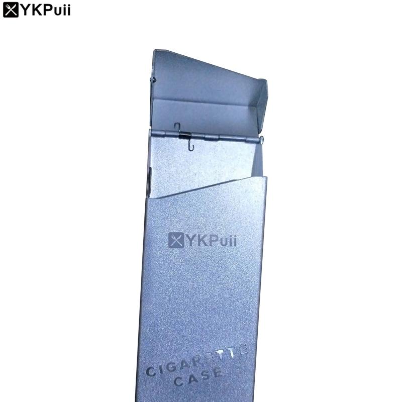 Ykpuii Cigarette Cigar Tobacco Case To 20pcs Cigarette Box Packet Holder Storage Case Box Maximum 5 Candy Colors Fag Box Gift