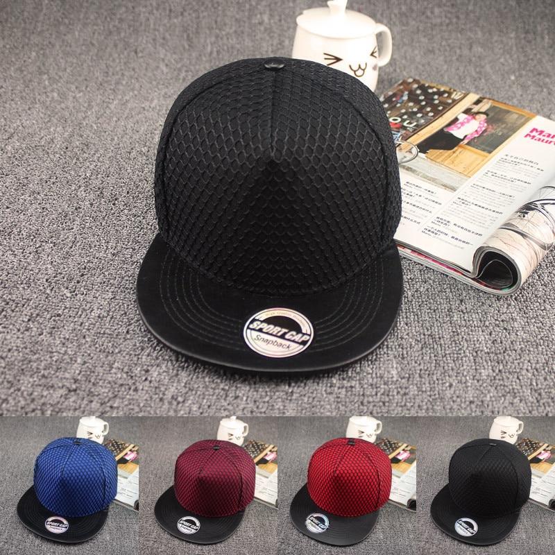 2019 New South Korea's Light Board Net Hat Hip Hop Hats Street Tide Men And Women Flat Cap Fashion Hip-hop Baseball Caps