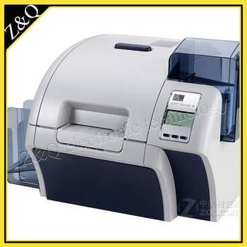 Zebra ZXP8  dual-Sided ID Card Printer with two 800012-445  and one  800012-601