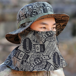 Sports Visor Caps Men's Outdoor Recreational Bucket Hats Leisure Camouflage Sun Hat Military Tactical Full Protective Cap sale