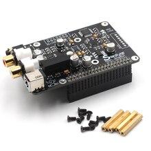 ES9038q2m OPA1612 Op DAC декодер цифровой вещательной платы ies 32 бит/384 K DSD128 для Raspberry pi 2B 3B 3B