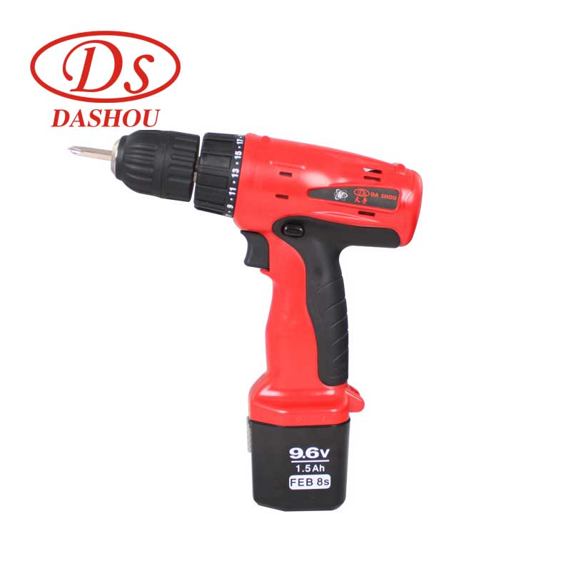 DS 9.6v Battery Rechargeable Electric ScrewDriver Set DS9DV Home Cordless Screwdriver Mini Drill Electric Screwdriver Power Tool 45pcs drills 4 8v cordless rechargeable reversible electric screwdriver tool set electric screwdriver with plastic case