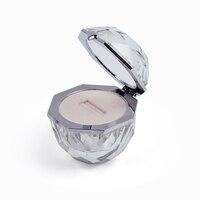 Transparent high end plexiglass ring box, couple ring box, marriage jewelry box, creative wedding diamond ring box