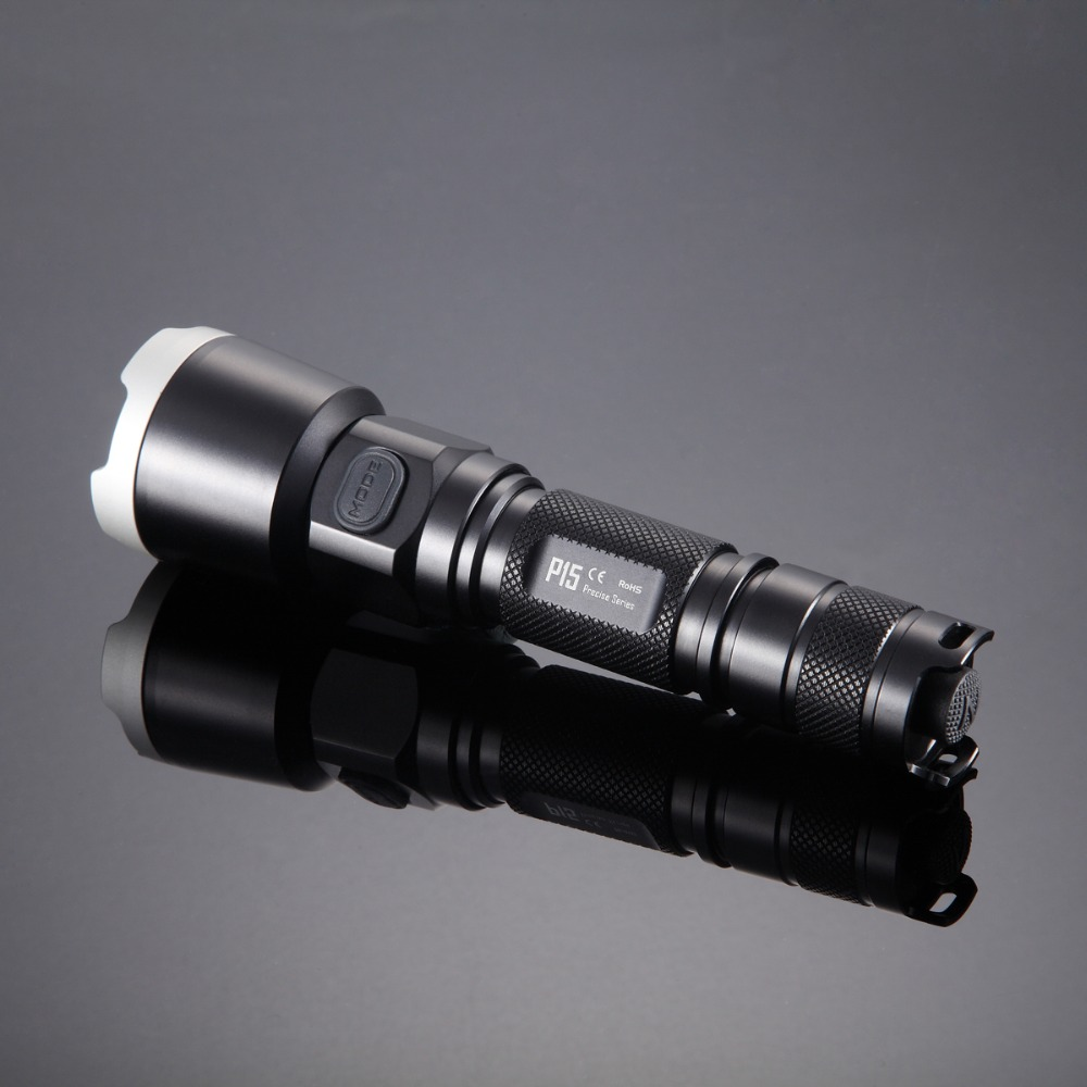 NITECORE P15 430Lm CREE XP-G2 (R5) tactical LED Flashlight Military Outdoor Hunt Search Rescue tactical torch Free shipping nitecore p15 430 lumens cree xp g2 tactical led flashlight military outdoor hunt search rescue tactical torch free shipping