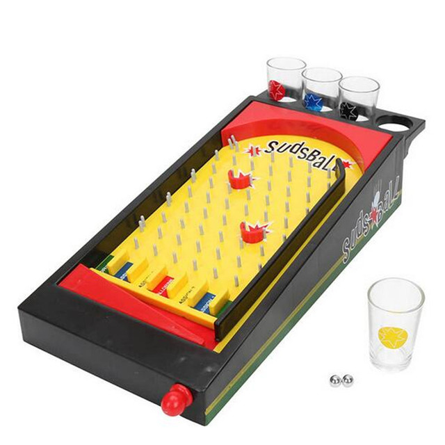 Top Fun Board Games Drinking Game Drink Machine Set With Shot Glass Party  Supplies Bar Game
