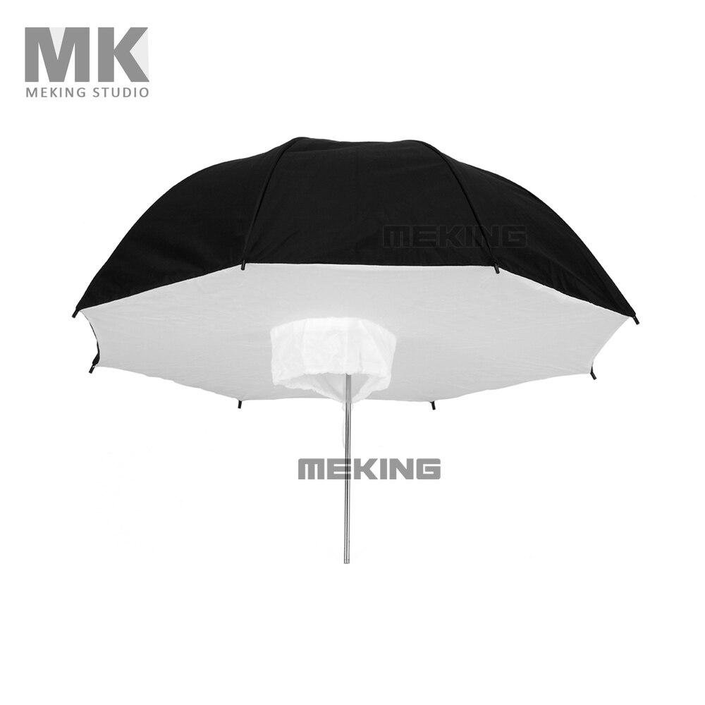 Selens font b Photo b font Studio Lighting Umbrella Softbox 84cm 33 Black Silver Reflective Umbrellas