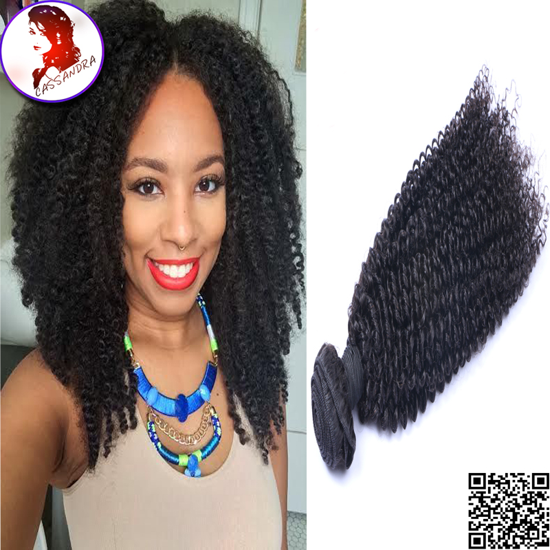 8A Grade Unprocessed Virgin Human Hair Mongolian Kinky Curly Cheap Bundles 3 pc Lot Grace Extensions For Black Woman