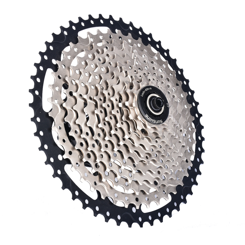 SUNSHIN Mtb bike Flywheel 11 Speed Bicycle Hub Cassette 11-50T Stainless Steel Chain wheel For SHIMANO XT M8000 Bike parts 7075t6 cnc mtb chain ring 110pcd 40 42 44 46 48t mtb bike bicycle crank chainring tooth disc chain ring cr e1 dx5800 110