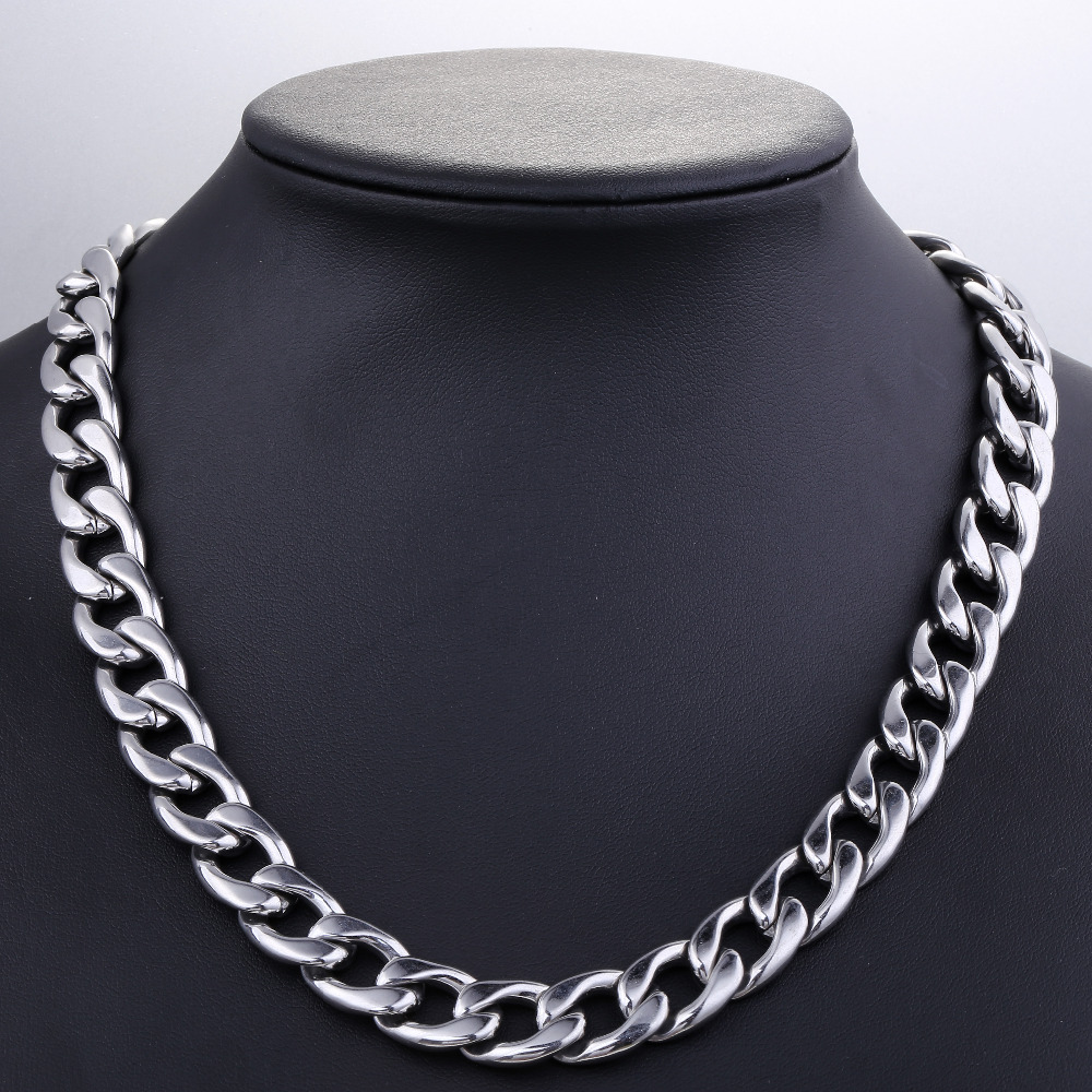 Fashionable Stainless Steel Men's Necklace