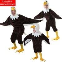 IREK Nouveau Cosplay Costume De Luxe Jour Stade Halloween Enfants Cosplay Costume Performance Adulte Aigle Or Sculpture Vêtements