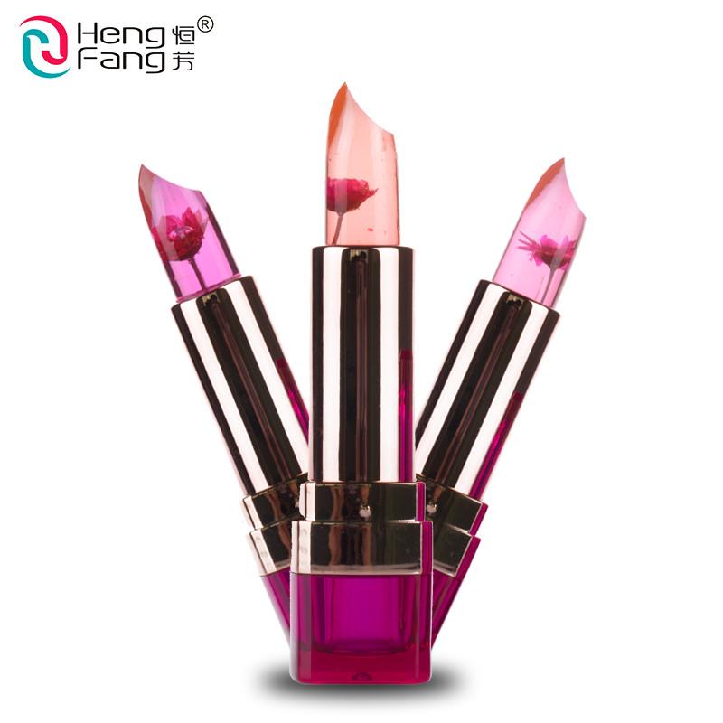 Temperature-changed Lipstick Lip Balm 7 Colors Lipbalm Nutritious Lips 3.5g Makeup Brand HengFang #H9223-H9266 5