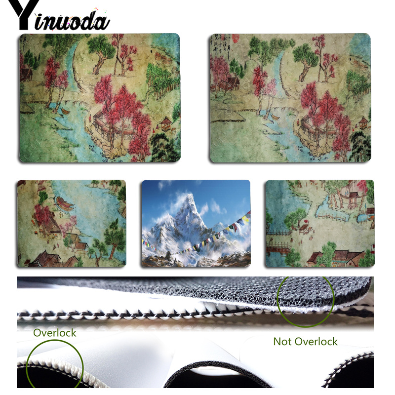 Yinuoda 2018 New Pen drawing Computer Gaming Mousemats Size for 18x22cm 25x29cm Small Mousepad