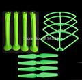 (No Original )  SYMA X8 X8C X8G X8W X8HC X8HG Spare Parts Accessories Green Propeller + Skid Landing + Propeller Guard