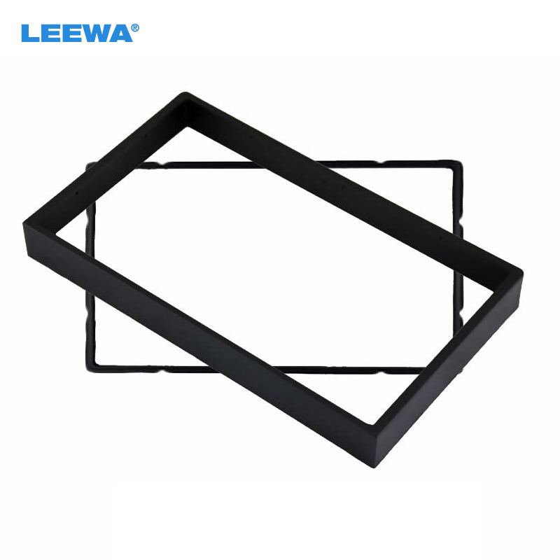 Double Din Fascia For BUICK Excelle, CHEVROLET Lacetti, Nubira, Optra Aveo SUZUKI Forenza Verona Dash Trim Kit Surrounded Frame free shipping car refitting dvd frame dash cd panel for buick excelle 2008 china facia install plate ca4034