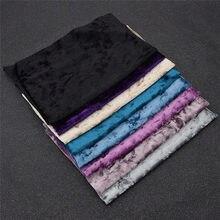 Tecido elástico de veludo a4 21x29cm, para vestir, roupas, pano de costura macio, faça você mesmo, patchwork, casa materiais do texto