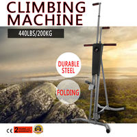 NEW Fitness Equipments Climber Vertical Stepper Exercise Fitness with Monitor & Manual Sealed Home Fitness Steppers Freeshipping