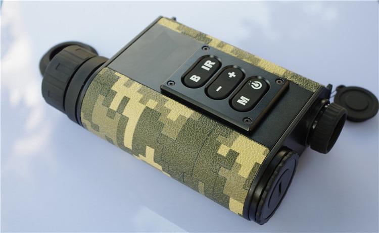 Multifuncional visão noturna laser rangefinder scope caça