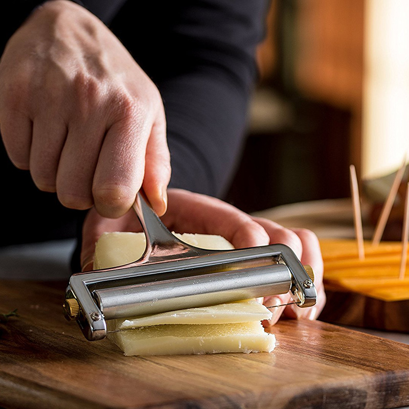 Alloy Adjustable Cheese Grater Slicer Kitchenware Tools Baking Fondue Kitchen Accessories Knife For Cheese Ralador De Queijo image