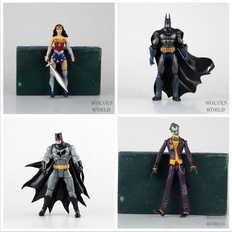 DC Heroes Batman Joker Wonder Woman PVC Action font b Figure b font Kids Toys Gift
