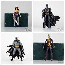 """Cc héroes Batman Joker mujer maravilla PVC figura de acción juguetes para niños de regalos para niños 7 """" 18 cm KT1776"""