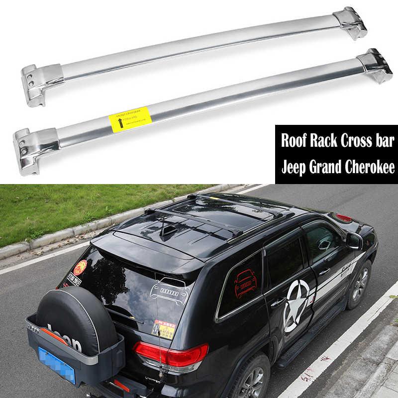 Liquor Car New Black Aluminium alloy Plastic Roof Rack Rail Cross Bars Luggage Carrier for Jeep Compass 2011-2015 2012 2013 2014