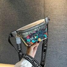 hot deal buy mobile phone tassel bag women's pockets fashion pu leather letter pockets black letter belt bag ladies chest handbags drop new