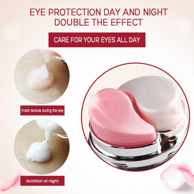 Hari dan Malam Elastis Eye Cream Perawatan Kulit Wajah Anti-Bengkak Wajah Lingkaran Hitam Anti Kerut Penuaan Pelembab firming