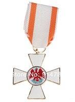 الحرب العالمية الأولى الألمانية ألمانيا بروسيا الأحمر النسر 2nd صنف تعبر ميدالية BADGE-33939