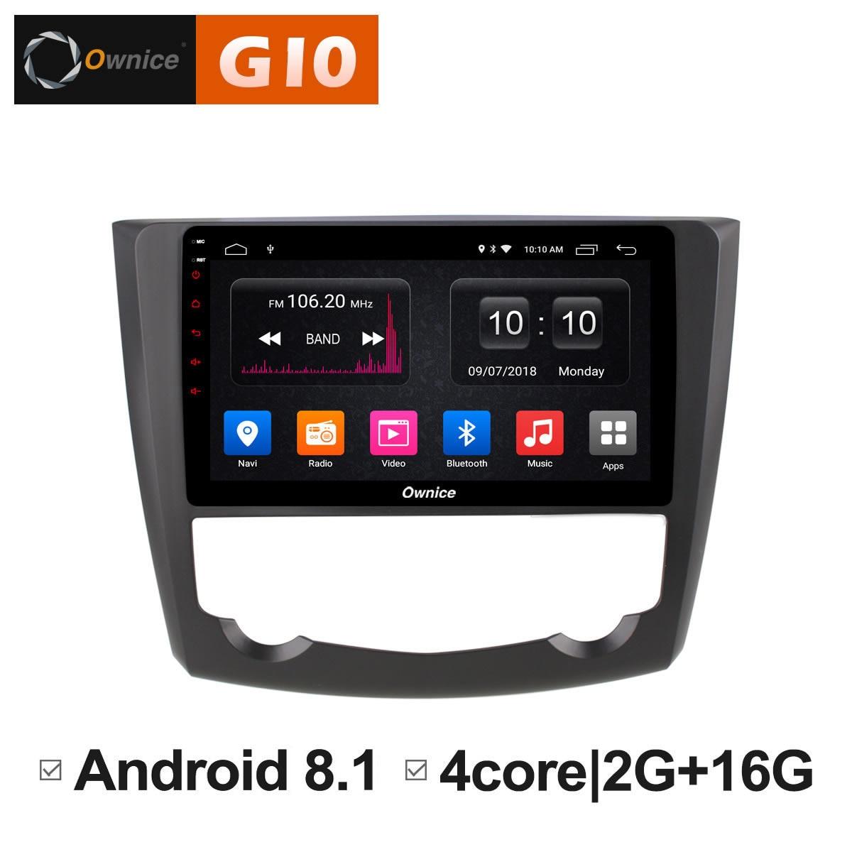 Android 8,1 устройства автомобилей Экран Pad PC DVD интеллектуальные мультимедийный плеер gps аудио навигации для Renault Kadjar 2015 2016 2017 DAB +