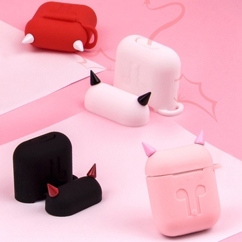 Devil Style Soft Silicone AirPod Case Cover