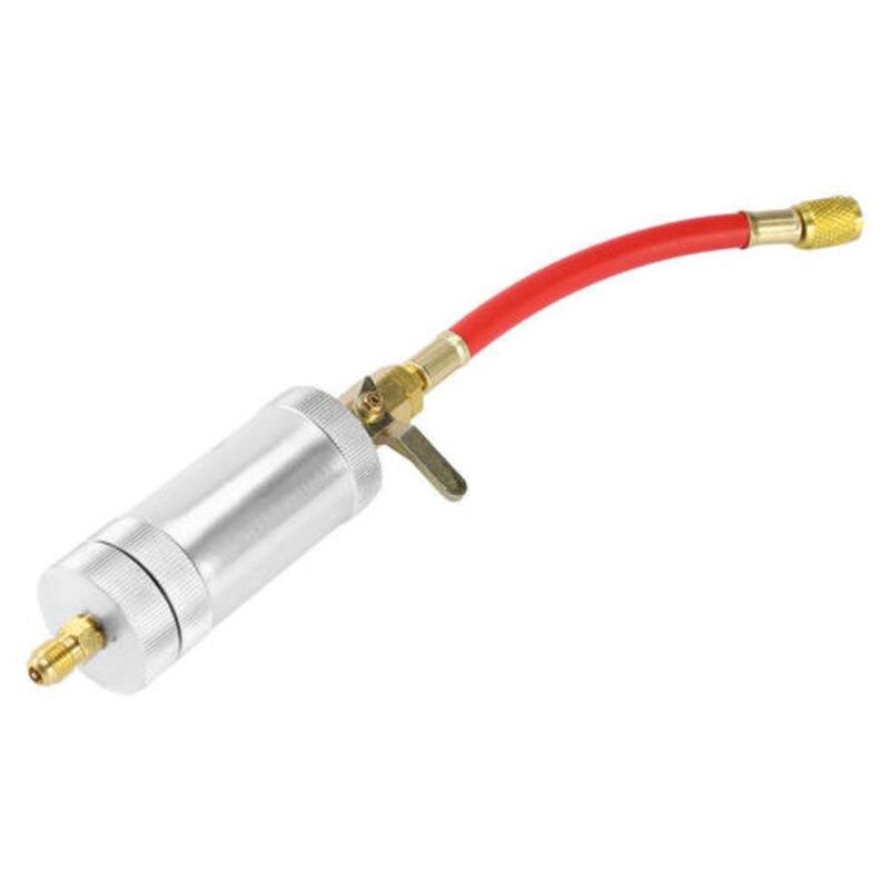 Image 4 - 1/4SAE 2 Oz A/C масляный инжектор R134A автомобильного кондиционера, инструмент для инъекций комплект-in Установки для кондиционирования from Автомобили и мотоциклы