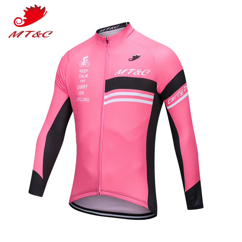 Sportswear Cycling-Jersey Bike Bicycle MT Spring Men Autumn Breathable Rose-Red Rose-Red
