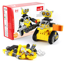 New WALL E Robot Tracked Compatible LegoINGLY Duplo Ideas Technic  Building Block Bricks Diy Toy Birthday Gift