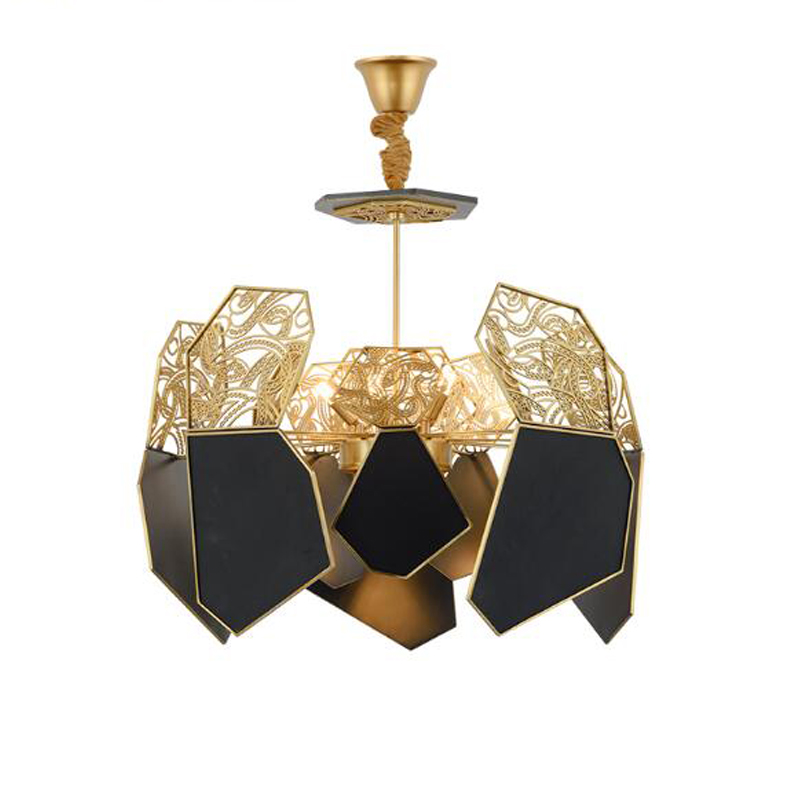New Modern Art after personality iron Chandelier for living room study room D70CM H80CM art and theory after socialism
