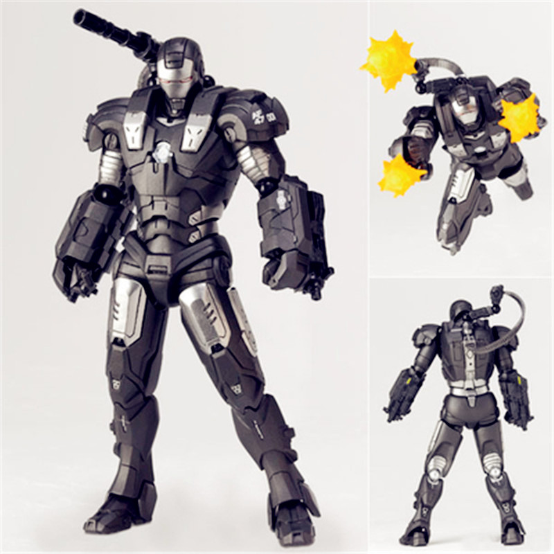 лучшая цена Avengers:Infinity War Superhero American Colonel James Rhodes War Machine PVC Action Figure Model Toy G1151