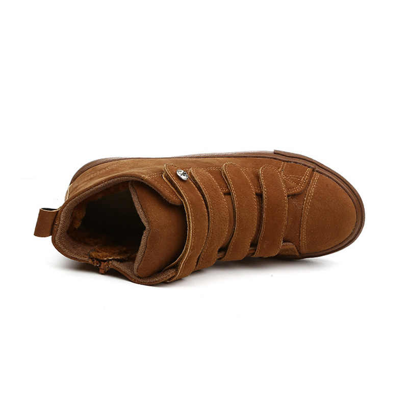Scarpe Da Donna di marca delle Donne di Inverno Scarpe Più Grandi Dimensioni Stivali Delle Donne di Inverno Della Peluche Caloroso Bling di Alta Qualità Metà di Boot