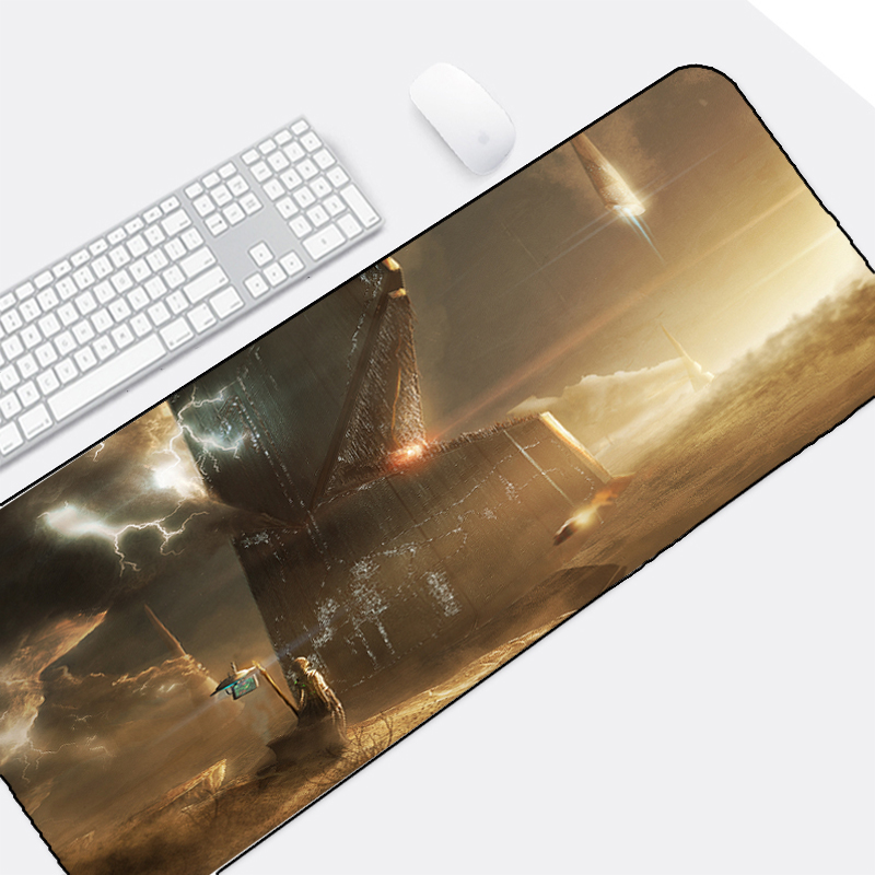 Congsipad The Cool Hadsome Sci-fi Scenery Creative Pattern Mousepad Star Wars Style Diy Custom Funny Design for Pc Game Lol Dota image