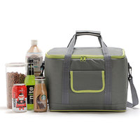 18L Oxford Thermal PEVA Lunch Bags For Kids Adults Food Picnic Cooler Bags Insulated Storage Fresh