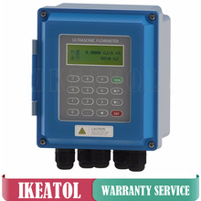 TUF-2000B Ultrasonic flow meter TM-1 TL-1 Transducer DN50mm-DN6000mm wall mounted ultrasonic liquid flowmeter