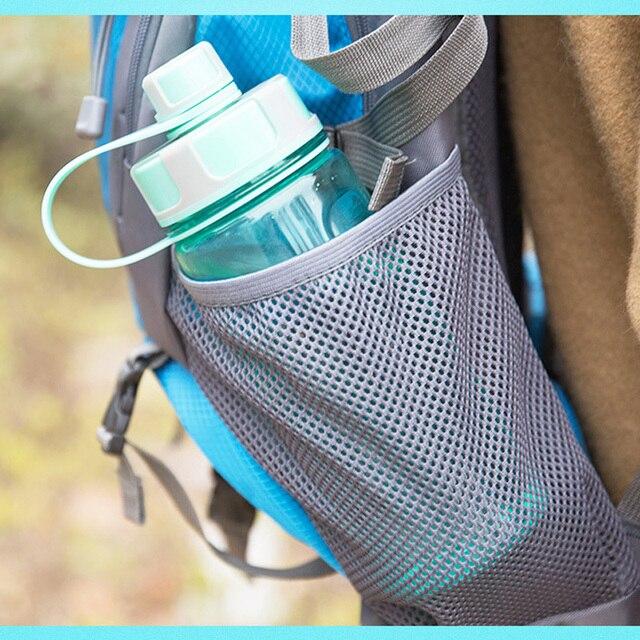 2000ml Large Capacity Water Bottles Portable Outdoor Plastic Sports Bottle With Tea Infuser Fitness Leak-proof Shaker Bottles 2