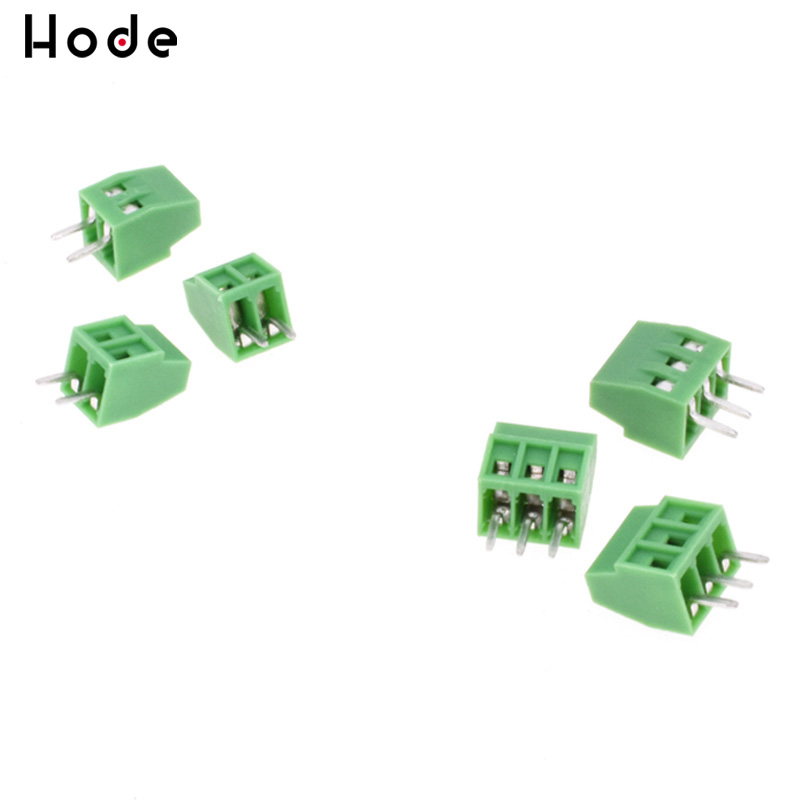 10PCS KF120-2P 2.54mm Pitch 2 pin Straight Pin PCB Screw Terminal Connector