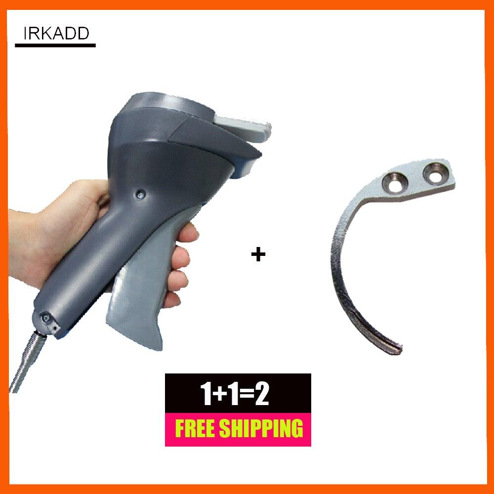 1 ชิ้นแท็กการรักษาความปลอดภัยสุด detacher ที่มีเชือกเส้นเล็กและ 1 eas มินิตะขอ detacher จัดส่งฟรี