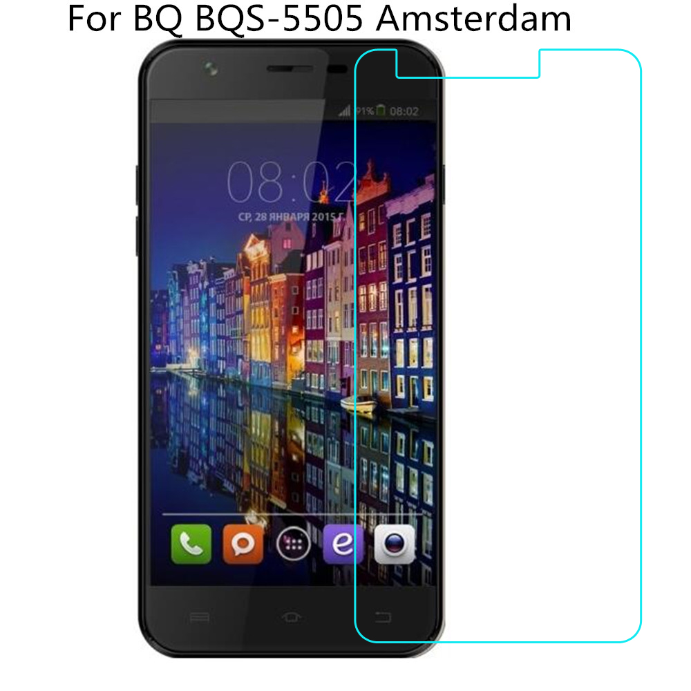 Tempered Glass For BQ BQS-5505 Amsterdam Screen Protector Phone Protective Film For BQ BQS-5505 Amsterdam Tempered GlassTempered Glass For BQ BQS-5505 Amsterdam Screen Protector Phone Protective Film For BQ BQS-5505 Amsterdam Tempered Glass