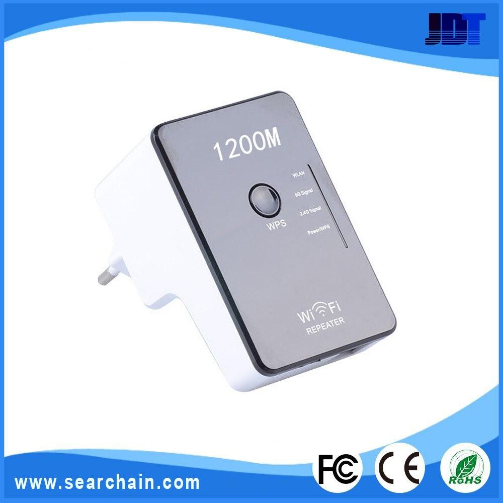 imágenes para 802.11N/G/B 1200 Mbps WIFI Repetidor Inalámbrico amplificador de señal con Modo AP Apoyo ON-OFF