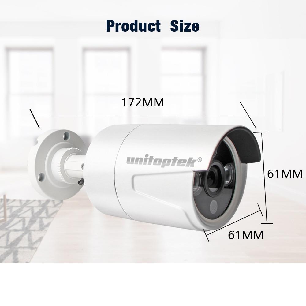 HD H.265 IP Camera Outdoor 2MP 3MP 4MP HD Security Camera Metal Waterproof Bullet Cam 3PCS Array IR LED ONVIF CCTV Cam IP XMEYE